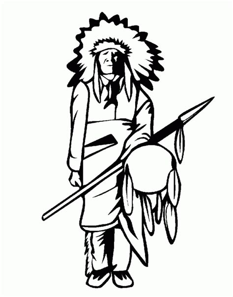 indians coloring pages coloring home