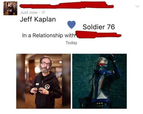 Jeff Kaplan Memes - cosplay date tumblr