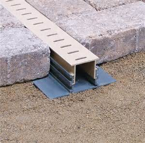 Patio Channel Drain by Stegmeier Llc Manufacturer Info Page Pool Drain And