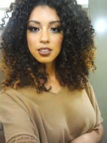 Natural curly black hair cute long curly hairstyles for you
