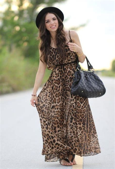 Leopard Print Summer by What To Wear With Animal Print Summer Dress Ideas