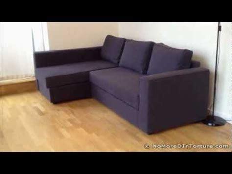ikea manstad sofa assembly ikea manstad corner sofa bed gethawaii