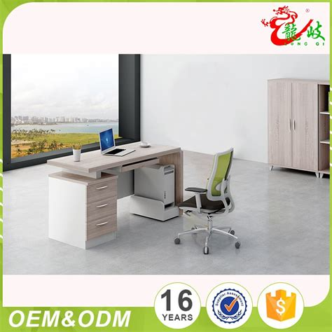 sale modern professional manufacturer of high quality mdf kitchen cabinet buy professional foshan factory made high quality sale mdf modern 3 drawer office furniture office table