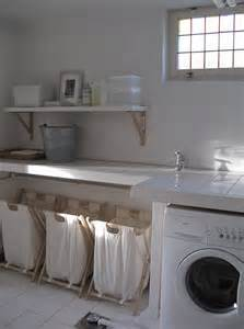 Cottage Laundry Room Ideas by Laundry Sorter Ideas Cottage Laundry Room Chez Larsson