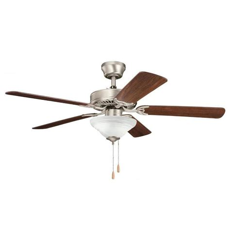 kichler sterling manor ceiling fan kichler lighting 339220ni7 sterling manor 52 ceiling fan