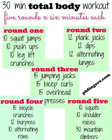 25 best ideas about 30 min workout on hiit