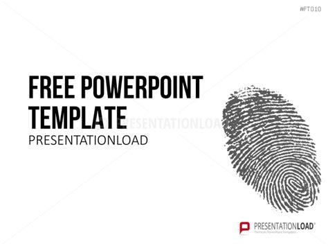 fingerprint paper template free powerpoint templates presentationload