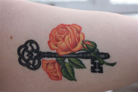 orange roses tattoo 6 orange images