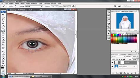 tutorial photoshop cs3 manipulasi wajah tutorial photoshop cs3 bahasa indonesia menghaluskan wajah