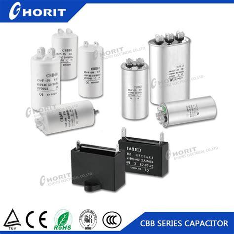 capacitor cbb61 400vac 250v 500vac polypropylene capacitor capacitor fan motor capacitors from ghorit