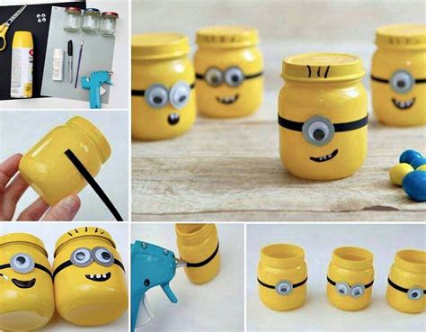 minion diy crafts diy minion jars pictures photos and images for
