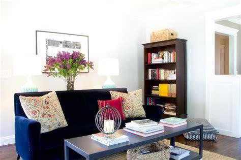 blue velvet sofa living room cool down your design with blue velvet furniture hgtv s