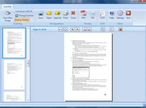 scan program scanner software for vista windows 7 scan software