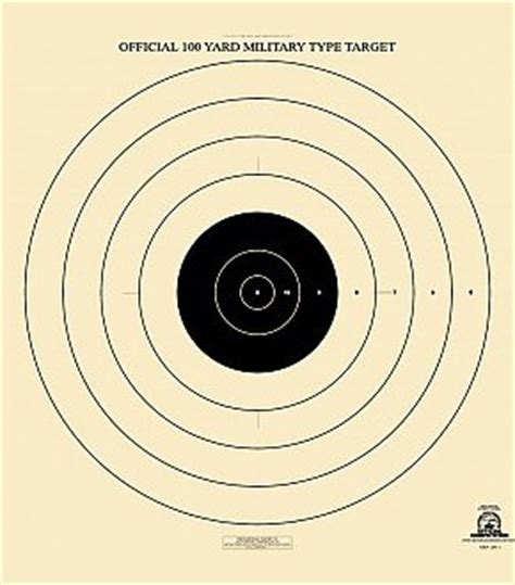 printable high power rifle targets uncut sheets of targets