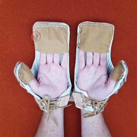 armour body armour gauntlets leather mitten