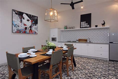 cuisine avec carreaux de ciment cuisine avec carreaux de ciment mariage de styles