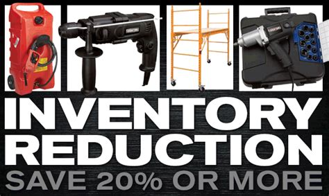 northerntool inventory reduction starts now save 20