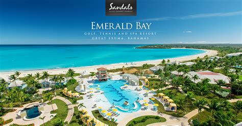 sandals bahamas emerald bay sandals emerald bay luxury resort in the bahamas sandals