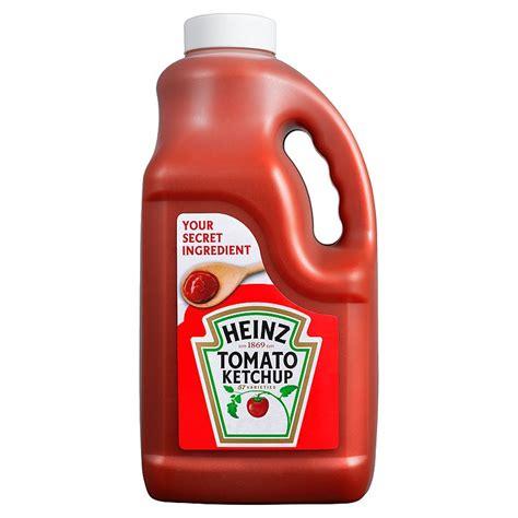 Dartslive Card Bottle Of Ketchup heinz tomato ketchup 4ltr makro co uk