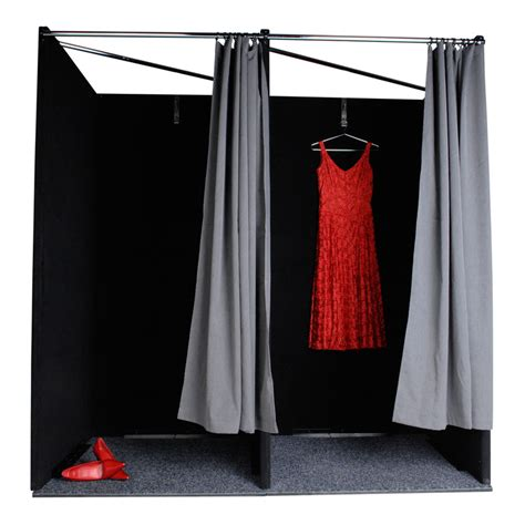 portable dressing room curtain change room instant retail
