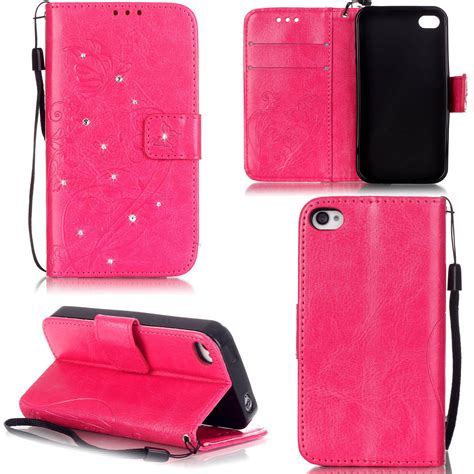 retro flower pattern flip leather wallet stand cover for iphone 7 7 plus 6 ebay