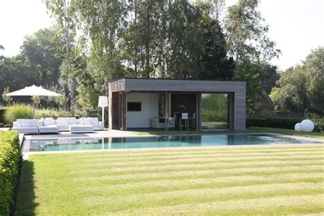 Pool House Contemporain by Pool House De Piscine Prix Infos Pour Bien Le
