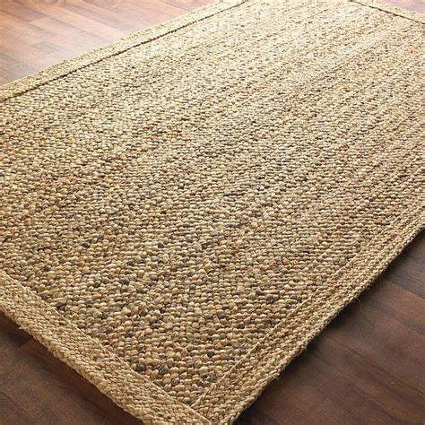 chunky jute rugs chunky boucle braided jute rug available in 2 colors gray and natura