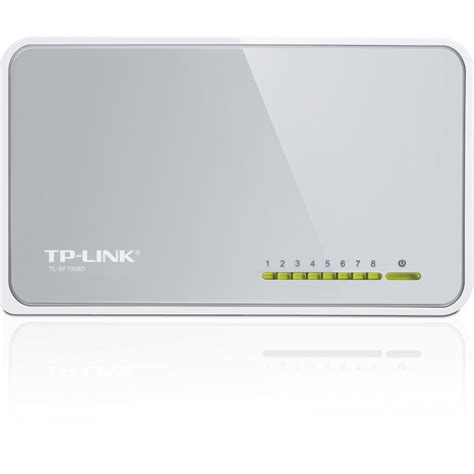 Tp Link Desktop Switch 8 Port 10100mbps tp link 8 port 10 100mbps desktop switch tl sf1008d