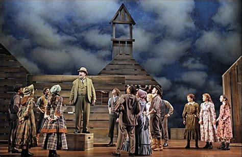 musical house review of little house on the prairie the musical bloglander