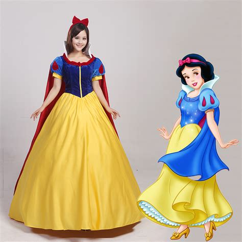 Snow White Dress Xl fantasia princess snow white costume carnival dress