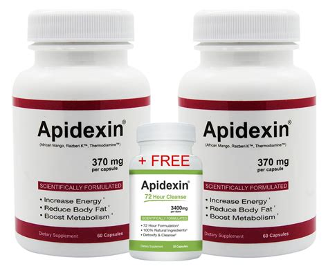 72 Hour Detox Pill by Apidexin 2 Pack And 1 Free 72 Hour Cleanse Diet Pill