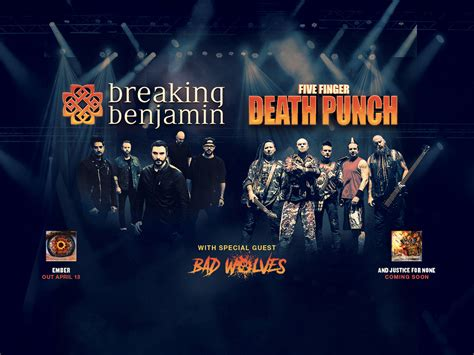 five finger death punch and breaking benjamin breaking benjamin and five finger death punch with special