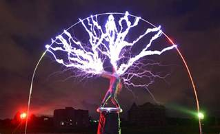 Tesla Coil Show Guitarist Creates Lightning During Gigs By