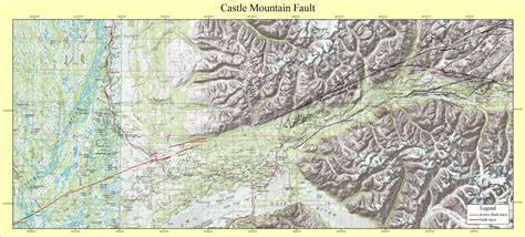 mountain map gis coverages of the castle mountain fault south central alaska usgs open file report 01 504