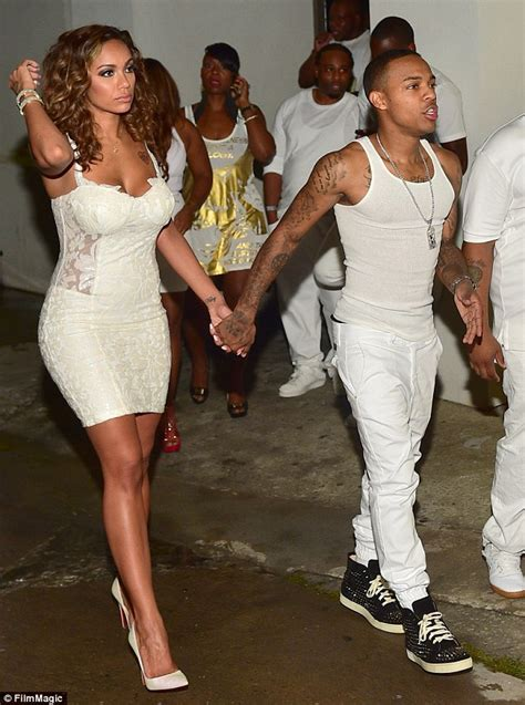 erika menendez love and hip hop bow wow bow wow presents erica mena with engagement ring after