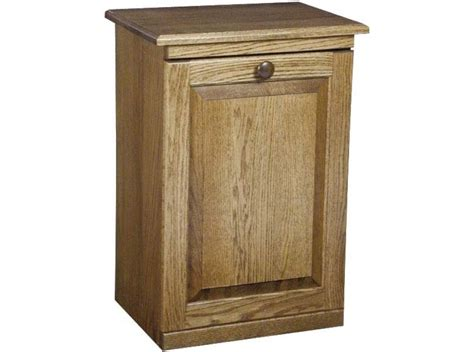 kitchen trash cabinet trash can cabinet