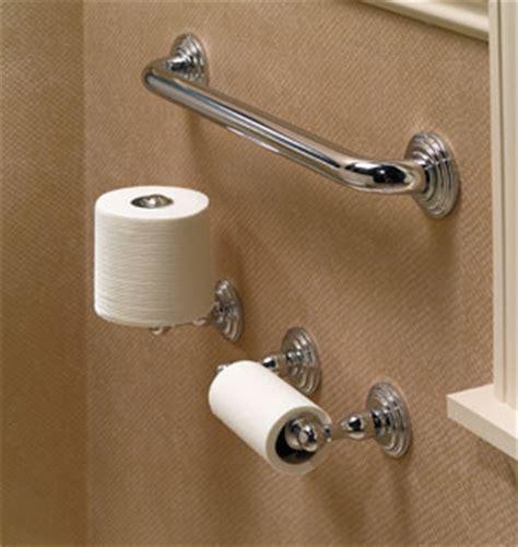 ginger bathroom accessories chelsea double post toilet tissue holder 1108n ginger