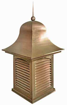Cupola Vent Roof Vent Attic Ventilation Gable Vent Copper