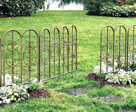 Garten Dekorativ Gestalten by Decorative Wire Garden Fencing Nightcore Club