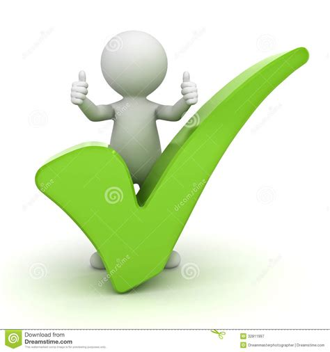 Free Background Check No Sign Up 3d Showing Thumbs Up With Green Check White