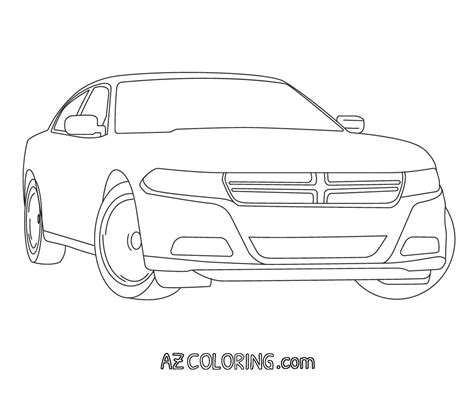 Dodge Charger Coloring Pages Az Coloring Pages Dodge Charger Coloring Pages