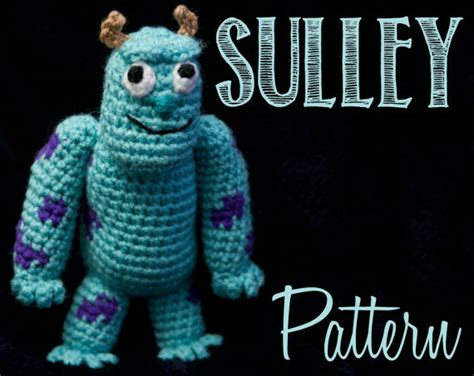 amigurumi monster pattern free james p sulley sullivan monsters inc amigurumi