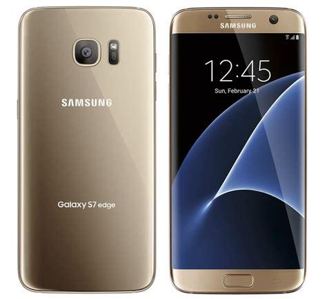 Samsung S7 Edge Gold samsung galaxy s7 edge in gold techmaniacs