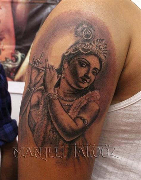 krishna tattoo create your own room lord krishna lord ganesha