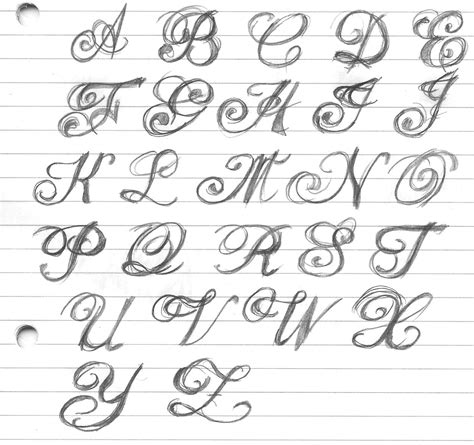 cursive tattoo letters finder lettering tattoos letter for