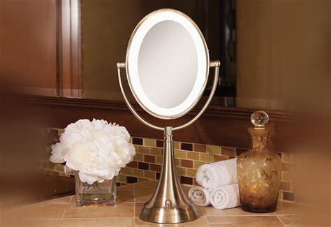 Cordless Vanity Mirror by Cordless Oval Vanity Mirror Sharper Image