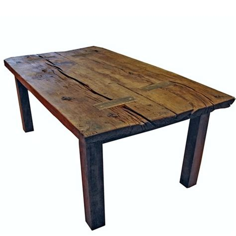 Reclaimed Oak Dining Table 200 Year Reclaimed Oak Dining Table Harvest Table Log Home Furniture The O