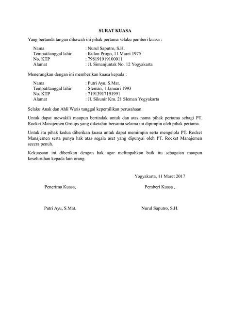 format surat kuasa jual notaris contoh surat kuasa yang dibuat notaris contoh z
