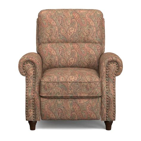 paisley recliner prolounger paisley push back recliner chair rcl12 pgp46