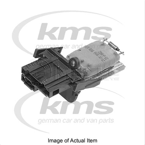 resistor polos resistor for interior blower vw polo classic 6kv2 75 1 6 75bhp top german qual ebay